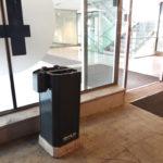 Kiwi källsorteringskärl / källsorteringsystem för offentlig inomhusmiljö